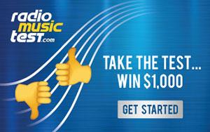 Radio Music Test - Take The Test... Win $1,000!