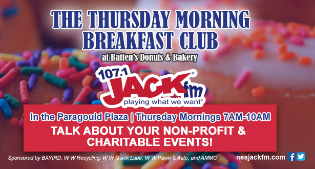 The Thursday Morning Breakfast Club!